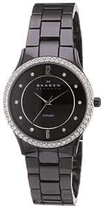 Skagen Damen-Armbanduhr XS Analog Quarz Edelstahl 347SBXBC