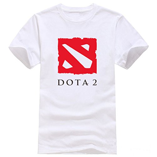 Men's Keep Calm And Play Dota Letters Printed Cotton Tee Shirt 3