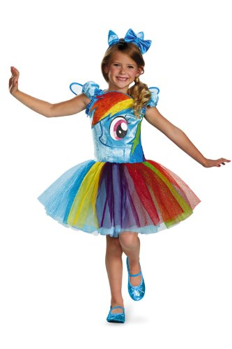 My Little Pony Rainbow Dash Tutu Prestige Child Kostüm (Medium)