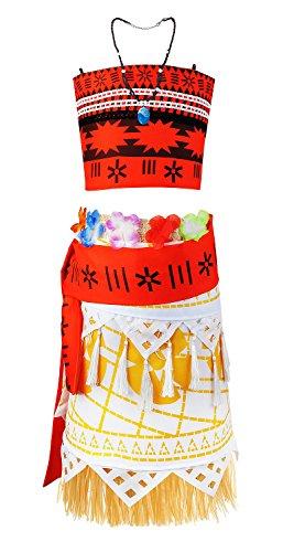 Jimilaka-Fille-Robe-de-Vaana-Aventure-Outfit-Costume-Cosplay-Skirt-Set