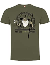 Rei Zentolo Tolkien - Camiseta regular para hombre, color verde militar, talla XL