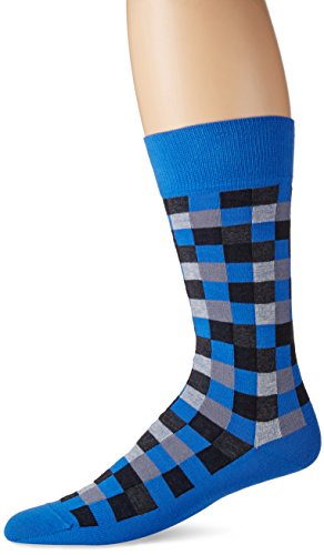 HACKETT LONDON Herren Multi Block Socks Schwarz (Black 999)