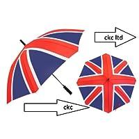 Unisex Mens & Womens New Union Jack Design Compact Umbrella Manual Open