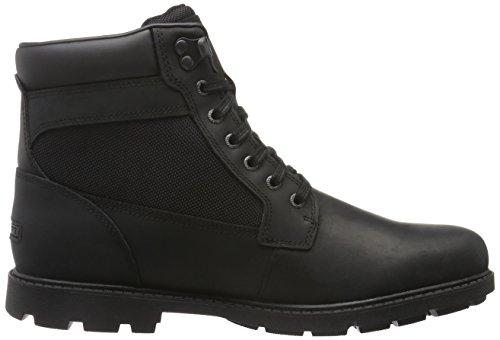 Rockport Herren Rugged Bucks Wp High Boot Kurzschaft Stiefel Schwarz (Black)
