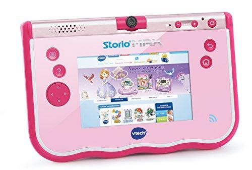 VTech - Tablet Storio MAX de 5' para niños, Color Rosa, versión española (3480-183857)