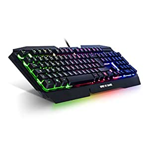 clavier spirit of gamer pro k5 clavier semi m canique pour gamer r tro clairage rgb. Black Bedroom Furniture Sets. Home Design Ideas