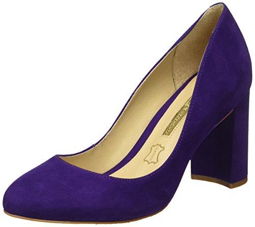 Buffalo LondonZS 6112-15 NOBUCK - Scarpe con Tacco Donna , Viola (Violett (Purple 20)), 39 EU