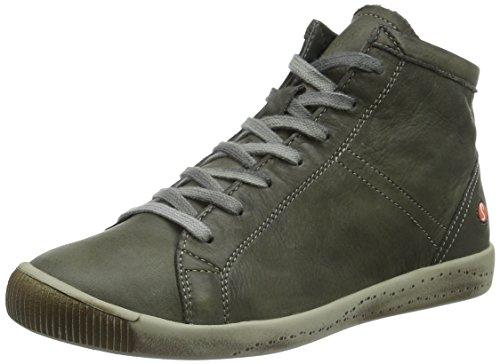 Softinos Isleen Washed, Baskets Basses Femme Vert - Grün (militar 004)