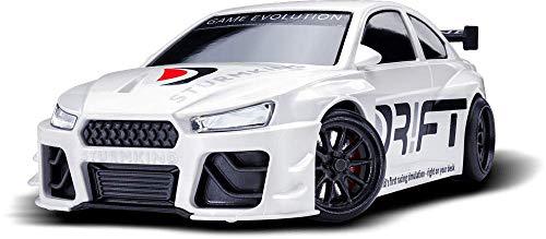 Dr!ft Racer LIMITED WHITE EDITION Edition ferngesteuertes drift auto, Rc Car mit realistischer Fahrdynamik zur Steuerung mit Iphone oder Android, reales Fahrverhalten simuliert via App (Ferngesteuerte Autos Drift)