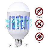 BLAPOXE Bug Zapper Light Bulb, 2 in 1 Mosquito Killer Lamp UV LED