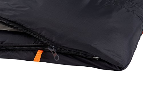 Nomad Triple-S Junior Sleepingbag Junior Charcoal/Whale 2016 Schlafsack - 6