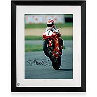 Rahmen Carl Fogarty Signierte Superbikes Foto: Victory Wheelie