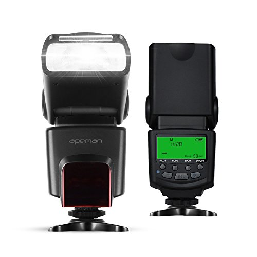 APEMAN-I-TTL-Speedlite-Flash-for-Nikon-Digital-SLR-Camera-Supports-I-TTL-and-MMULTIS1S2-Flash-Mode-Include-Multi-functional-Portable-Package-and-Universal-Wireless-Remote-Control