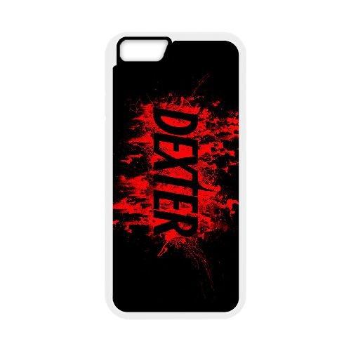 Dexter Blood coque iPhone 6 4.7 Inch Housse Blanc téléphone portable couverture de cas coque EBDXJKNBO09484