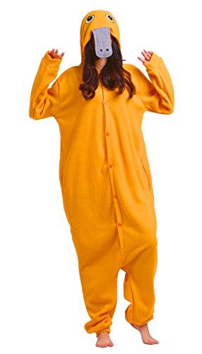 Kigurumi Onesie Pyjama Tier Jumpsuit Fasching Damen Herren Karneval Cosplay Nachtwäsche (3 Wünsche Paare Halloween-kostüme)