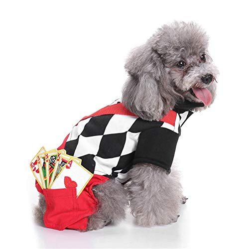 Kostüm Geist Der Für Erwachsenen - BUHUW Halloween Cosplay KostüM Hund Kleidet Haustiere Weihnachtsalte Leute Halloween-Haustier Kleidet KüRbiszaubererkostüMe