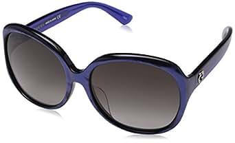 Gucci Damen Sonnenbrille GG0080SK 003, Braun (Avana/Brown), 61