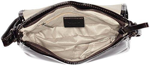 Tamaris Damen Zora Crossbody Bag Umhängetaschen, 23x18x7 cm Rot (bordeaux 549)