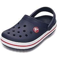 Crocs Kids' Crocband Clogs, Blue (Navy/Red), 10 UK, Child,204537