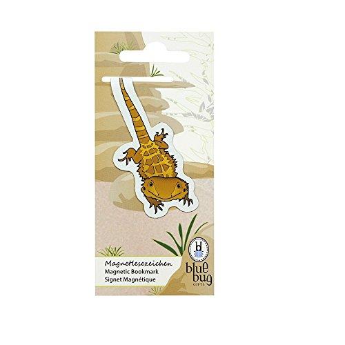AKTION Originelle Magnetlesezeichen Lesezeichen Buchklammer verschiedene Tiere, Auswahl:Bartagame
