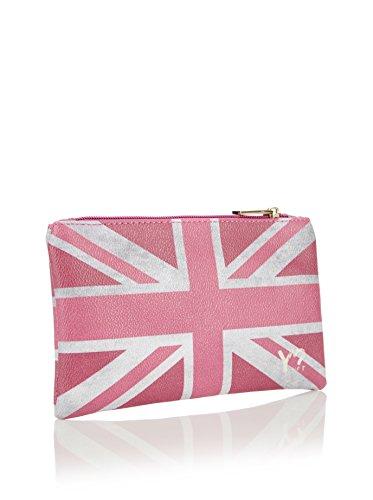 YNOT - 341, Beauty Case da viaggio Donna flag uk pink