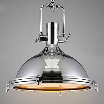 louvra suspension luminaire industrielle vintage r tro abat jour m tal clairage de plafond. Black Bedroom Furniture Sets. Home Design Ideas