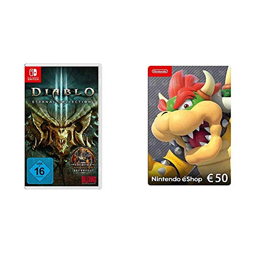 DIABLO III: Eternal Collection - [Nintendo Switch] & Nintendo eShop Card | 50 EUR Guthaben | Download Code