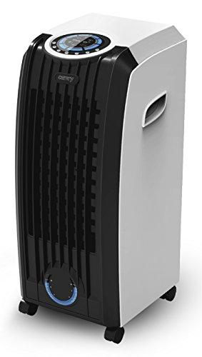 3in1 Aircooler | Mobiles Klimagerät | Klima Ventilator | Lufterfrischer | Mobile Klimaanlage | Klimaventilator | Fernbedienung | Timer | 3 Stufen | Oszillierend | Computer Control System | (Schwarz/Weiß)