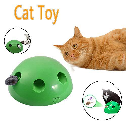 Katzenspielzeug Pet Play Toys, ABS-Material interaktive Katzenspielzeug Sicher Und Langlebig Haustier Spielzeug Ball Kann Auf Haustier Unterhaltung Sport Jagd Spielzeug Katze Angewendet