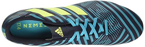 adidas Herren Nemeziz 17.4 FxG Fußballschuhe Blau (Legend Ink/solar Yellow/energy Blue)