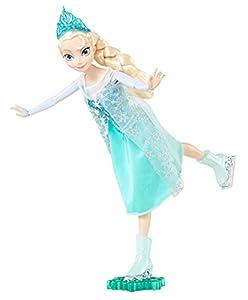 Disney Frozen - Muñeca Patinadora, Elsa (Mattel CBC63)