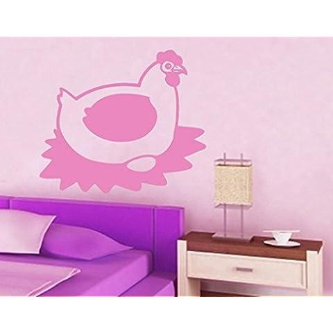 Adesivo da parete No. 193Oster gallina Pasqua