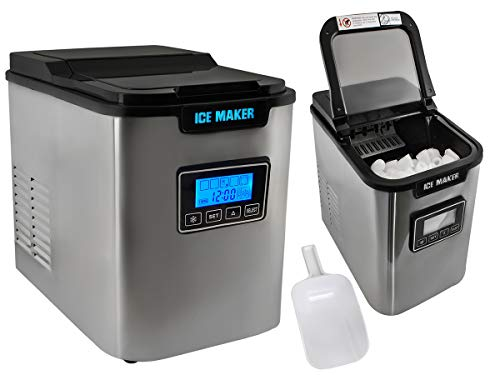 Eiswürfelmaschine Ice Maker Eiswürfelbereiter Eiswürfel Zubereiter 2,2 L #5536