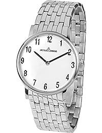 Jacques Lemans Damen-Armbanduhr Vienna Analog Quarz Edelstahl 1-1849F