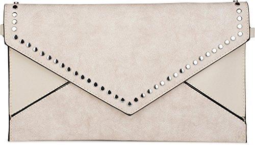 styleBREAKER, Borsa a tracolla donna turchese turchese taglia unica Crema-Amarillento