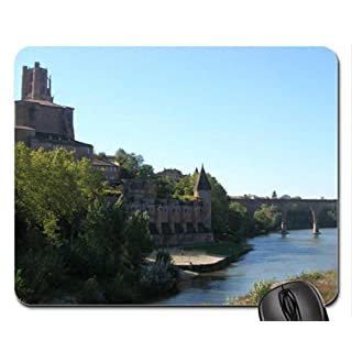 Albi-Cathedral Mouse Pad, Mousepad (Ancient Mouse Pad)