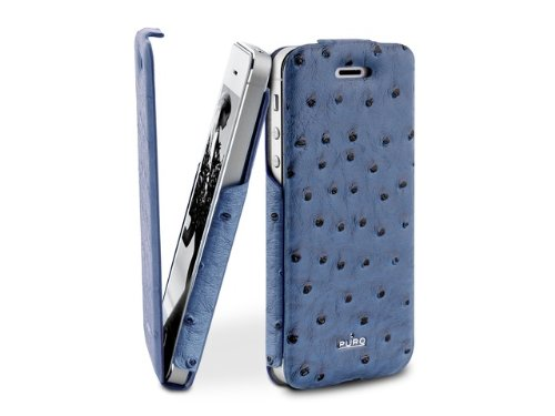 Puro Flip Case - Nandu - Apple iPhone /5S5 - rosa Blau
