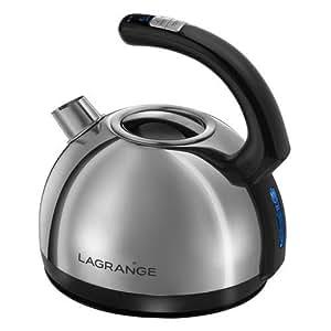 Lagrange - 509 020 - Bouilloire sans fil 1,5l 2200w température réglable Hemisphere