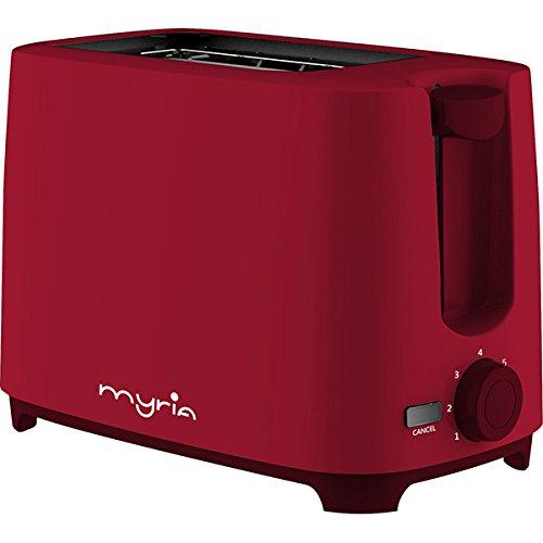Myria MY4016RD Tostadora  750 W  Rojo