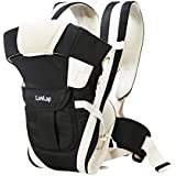 LuvLap Elegant Baby Carrier (Black)