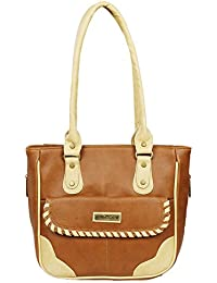 Fantosy Women Tan And Beige Charry Handbag Fnb-682