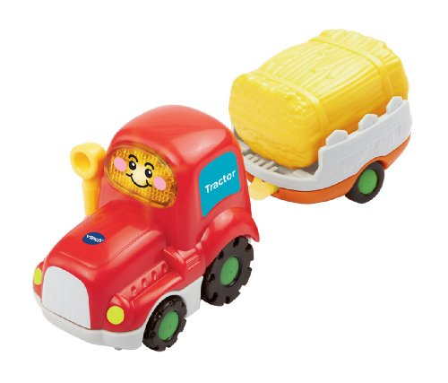 VTech Baby Toot-Toot Drivers Tractor with Trailer
