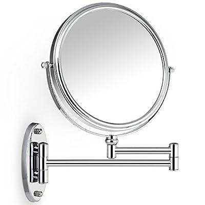 Miusco 7-Fach / 1-Fach Vergrösserungsgrade Kosmetikspiegel Für Die Wandmontage