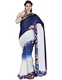 The Chennai Silks - Italian Crepe Silk Saree - Multicolor- (CCRISY281)