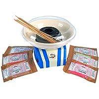 lickleys eléctrico Moderno Azul Edición algodón de azúcar y algodón Máquina Elige Tu Diseño Azúcar sabor - algodón de Azúcar Máquina con 6 sabores de Azúcar