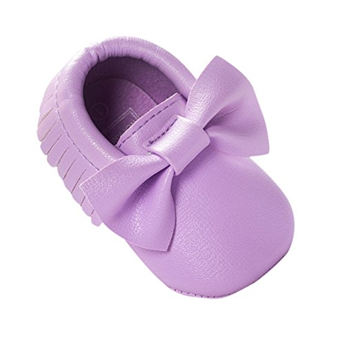 Etosell Bebe Garcon Fille Toddler Tassel Cuir Les Chaussures 0-18 M M