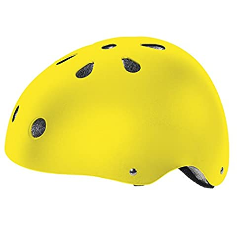 Ventura Freestyle Cycling/BMX/Skate Helmet, Smiley, M (54-58 cm) (Youth)