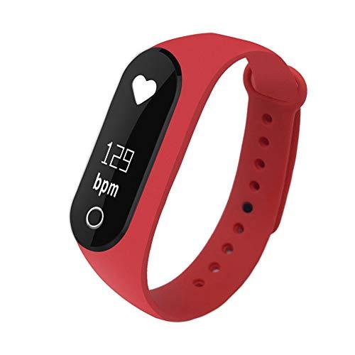 Ediand Fitness Tracker, Letufit Plus-Aktivitäts-Tracker mit Pulsmesser, Schrittzähler, Wasserdichtes, intelligentes Armband für Android und Ios