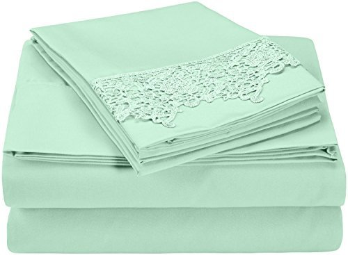 super-soft-light-weight-100-brushed-microfiber-king-wrinkle-resistant-mint-4-piece-sheet-set-with-re