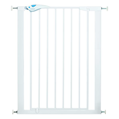 Lindam 051300 Easy Fit Plus Deluxe Tall Extra High Pressure Fit Safety Gate - 76-82 cm, White